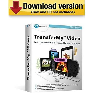 TransferMy Video pour Windows (1 utilisateur) [Téléchargement]
