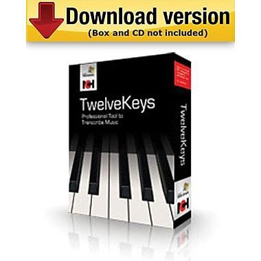 TwelveKeysMD – Assistant de transcription de musique pour Windows (1 utilisateur) [téléchargement]