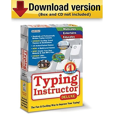 Typing Instructor Deluxe 17. 3 for Windows (1-User) [Download]