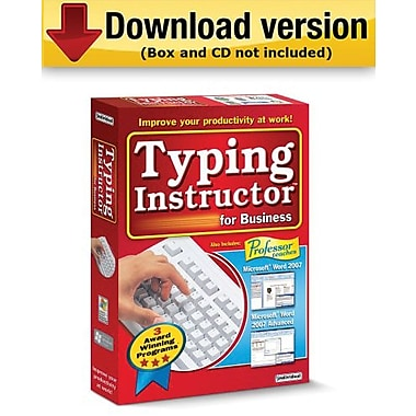 Typing Instructor for Business 2.0 pour Windows (1 utilisateur) [téléchargement]