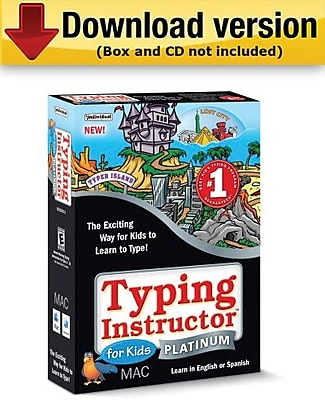 Typing Instructor for Kids Platinum for Mac (1-User) [Download]