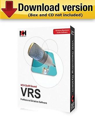 VRS Recording System Basic (1 Line) for Windows (1-User) [Download]