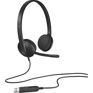 Logitech – Casque d'écoute USB H340