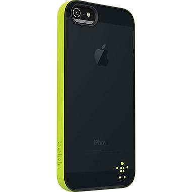 Belkin Grip Candy Sheer Case for iPhone 5, Glow/Blacktop
