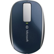 Microsoft Sculpt Touch Wireless Mouse, BlueTrack Bluetooth Wireless Mouse, Blue (6PL-00003)