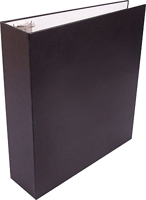 Staples Recyclable 2-Inch D 3-Ring Binder, Black (SEB41818)