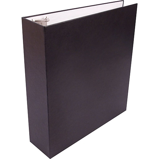 Staples Recyclable 2-Inch D 3-Ring Binder, Black (SEB41818