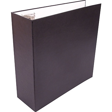 Staples Sustainable Earth 3-Inch D-Ring Non-View Binder, Black (SEB41819)