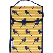 Blue Avocado Lunch Bag, Yellow Birds