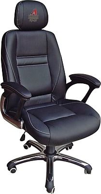 Wild Sports MLB Leather Executive Chair, Arizona Diamondbacks