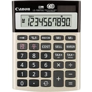 Canon® LS-100TSG Green Display Calculator, 10-Digit LCD Display