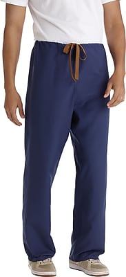 Medline PerforMAX Unisex XL Reversible Scrub Pants, Navy (800NNTXL-CM)
