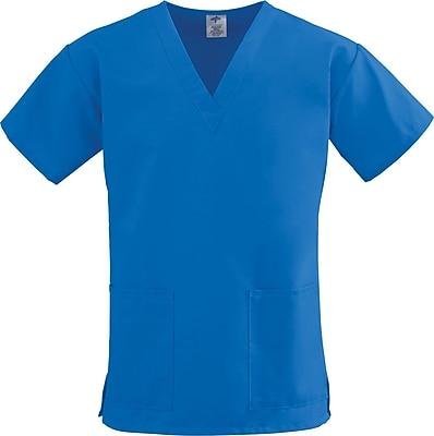 Medline ComfortEase Women 3XL V-Neck Scrub Top, Royal Blue (8800JRLXXXL)