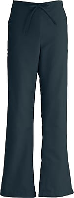Medline ComfortEase Women Large Modern Fit Cargo Scrub Pant, Black (8865DKWL)