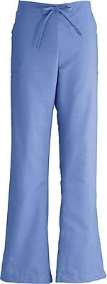 Medline ComfortEase Women Large Modern Fit Cargo Scrub Pant, Ceil Blue (8865JTHL)