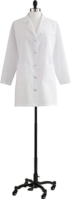 Medline Women 3XL Staff Length Lab Coat, White (MDT11WHT30E)