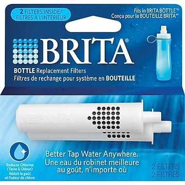 Brita Bottle Replacement Filters, 2-Pack