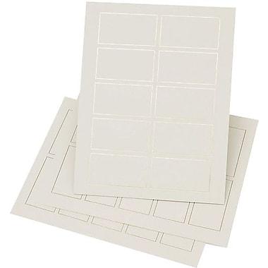 Gartner Studios® – Cartes professionnelles, 3 1/2 po x 2 po, bordure dorée, paq./150