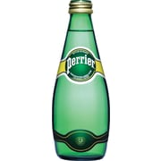 Perrier Sparkling Water, 330 mL Bottles, 24-Case