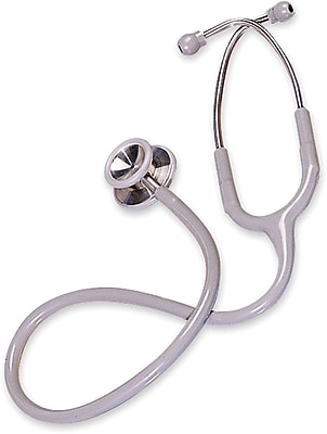 Accucare® Elite Adult Stethoscopes, Gray