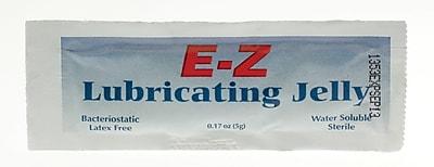 Medline Sterile Lubricating Jelly, 9/50 oz, Foil Pack, 150/Box