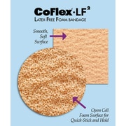 "Co-Flex® LF2 Latex-free Non-sterile Cohesive Bandages, Tan, 5 yds L x 2"" W, 36/Pack"