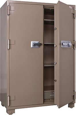 Mesa&trade 20.7 cu ft 2 Hour Fire Safe Double Door Combination Lock Safe with Premium Delivery