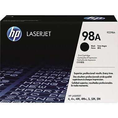 HP 98A Black Toner Cartridge (92298A)