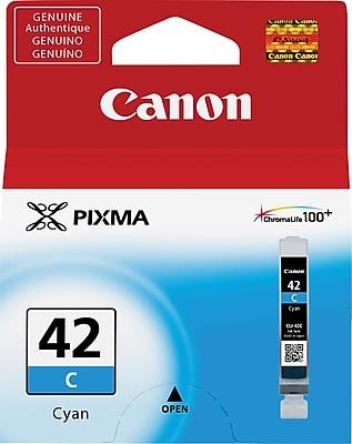Canon CLI 42C Cyan Ink Cartridge, Standard (6385B002)