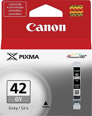 Canon CLI-42GY Gray Ink Cartridge (6390B002)