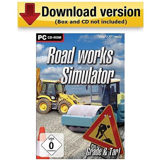 Road Works Simulator for Windows (1-User) [Download]