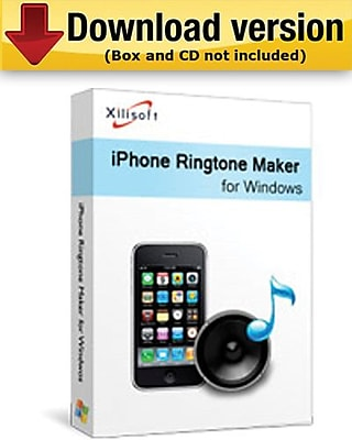 Xilisoft iPhone Ringtone Maker for Windows (1-User) [Download]