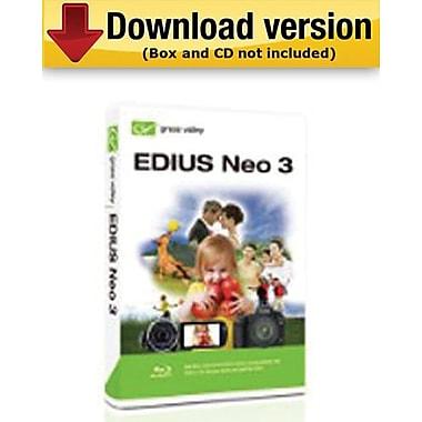 Edius Neo 3 pour Windows (1 utilisateur) [Téléchargement]