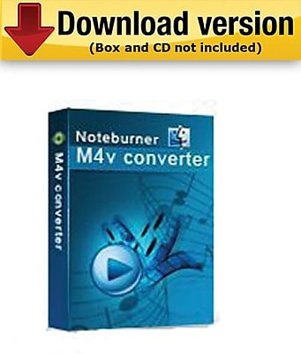 NoteBurner M4V Converter for Mac (1-User) [Download]