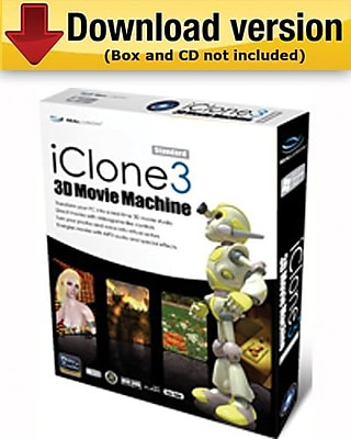 iClone3 Standard for Windows (1 - User) [Download]