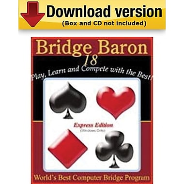 Bridge Baron 18 Express Edition for Windows (1-5 User) [Download]