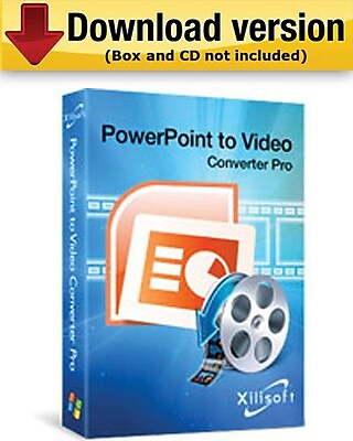 Xilisoft PowerPoint to Video Converter Business for Windows (1-User) [Download]