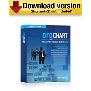OrgChart Standard for 50 People for Windows (1 - User) [Download]