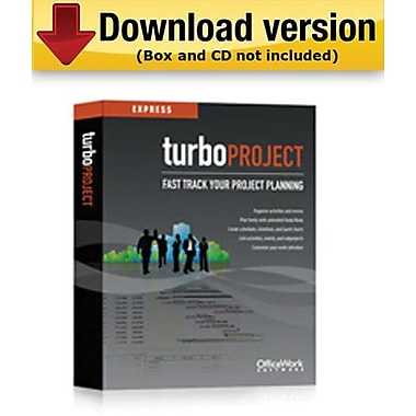 TurboProject Express for Windows (1 - User) [Download]