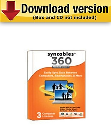 Syncables 360 Premium Version 7.0 for Windows (1 - 3 User) [Download]