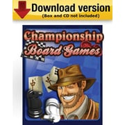 Championship Board Games for Windows (1 - User) [Download]