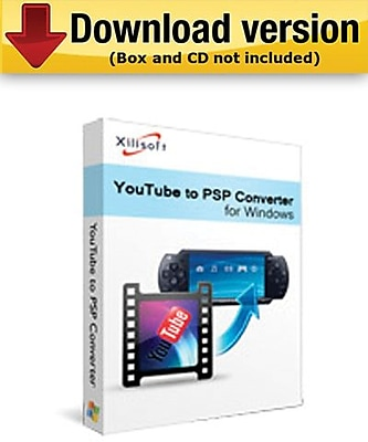 Xilisoft YouTube to PSP Converter for Windows (1-User) [Download]