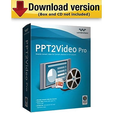 Wondershare PPT to Video Pro for Windows (1-User) [Download]