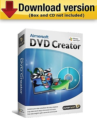 Aimersoft DVD Creator for Windows (1-User) [Download]