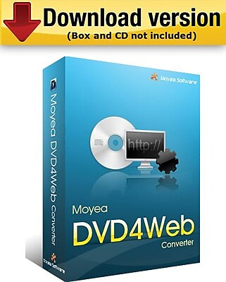 Moyea DVD4Web Converter for Windows (1-User) [Download]