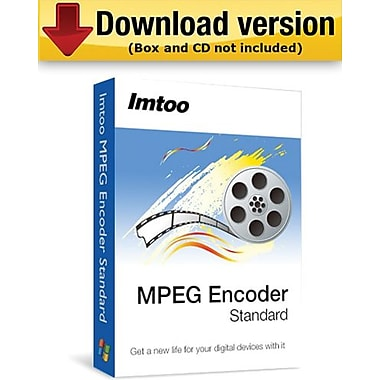 ImTOO – Encodeur MPEG Ultimate pour Windows (1 utilisateur) [Téléchargement]