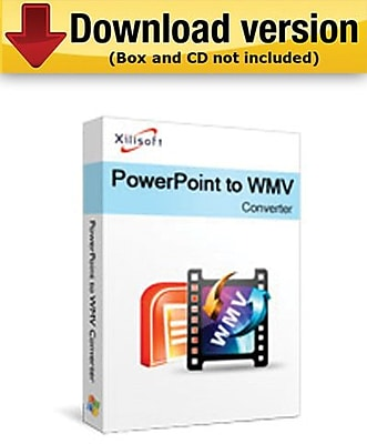 Xilisoft PowerPoint to WMV Converter for Windows (1-User) [Download]