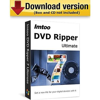 ImTOO – Extracteur DVD Ultimate pour Windows (1 utilisateur) [Téléchargement]