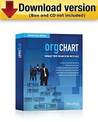 OrgChart Professional for 500 People for Windows (1 - User) [Download]
