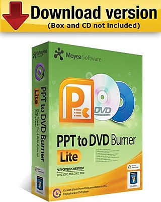Moyea PPT to DVD Burner Lite for Windows (1-User) [Download]